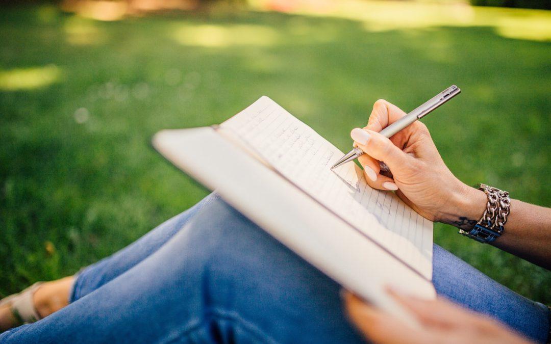 writing food diary