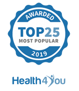 Awarded Top 25 most popular 2019
