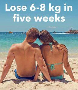 lose 6-8 kg in 5 weeks